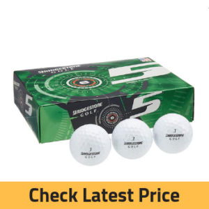 Bridgestone 2015 E5 High Flight 2-Piece Mens Golf Balls