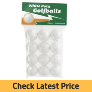 Crown Sporting Goods Polyurethane Plastic Golf Balls
