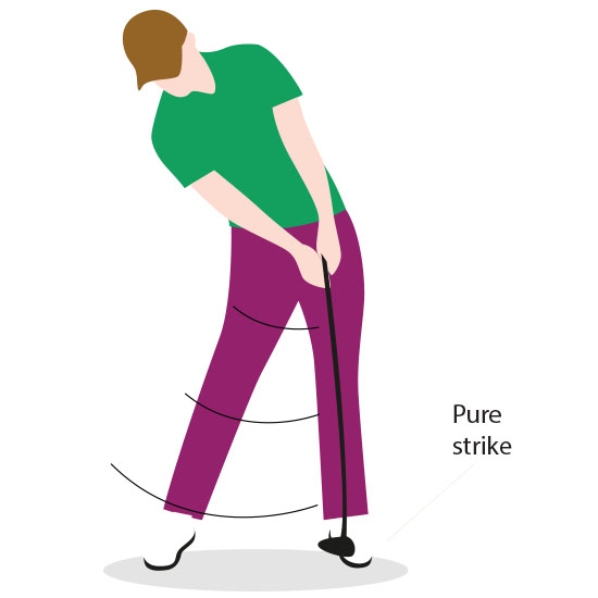 golf swing tutorial step 6