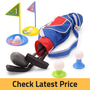 EXERCISE N PLAY Deluxe Happy Kids/Toddler Golf Clubs Set Review