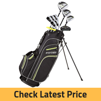Precise M3 Men's Complete Golf Clubs Review