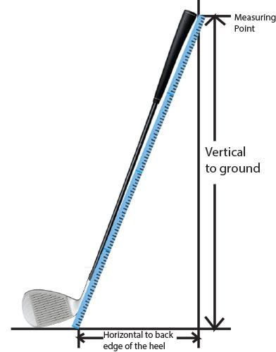 measure golf club length