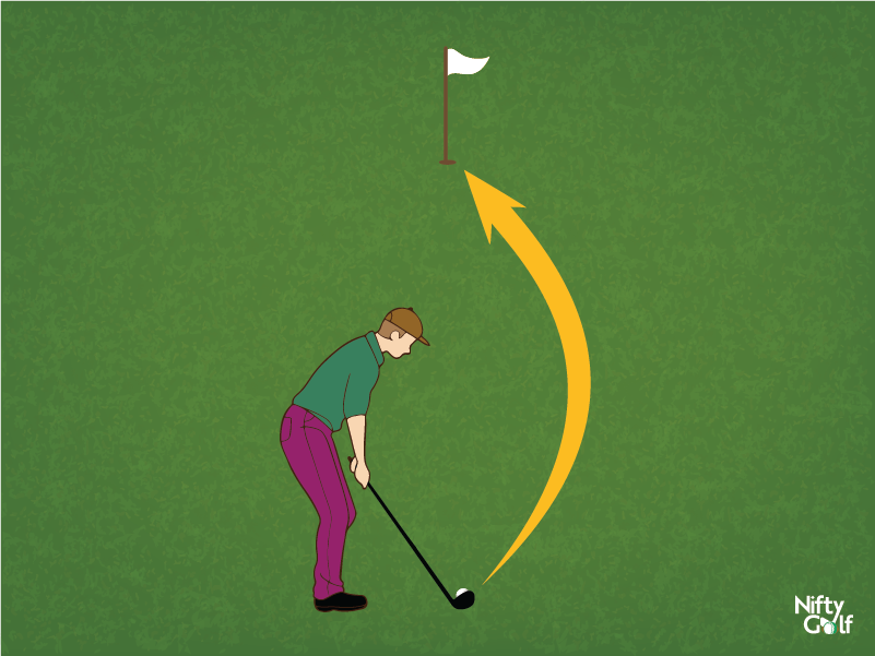golf curved shot