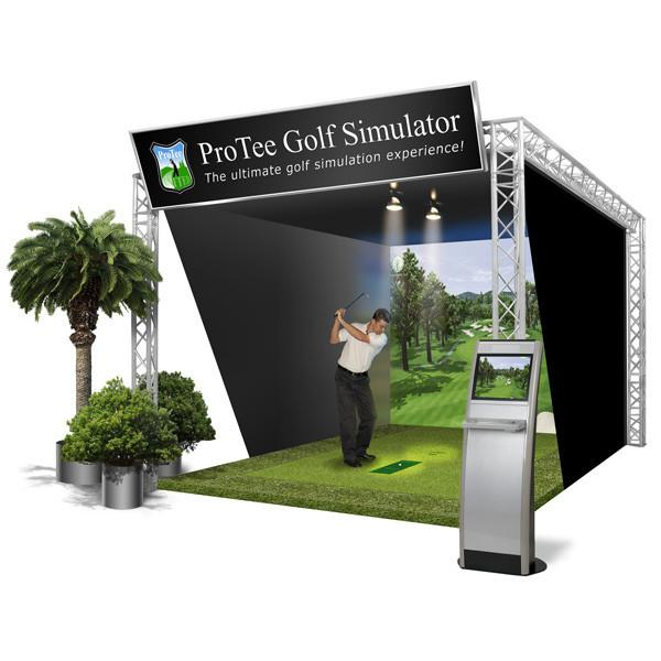 protee golf simulator package