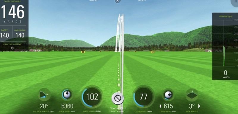 SkyTrack interface