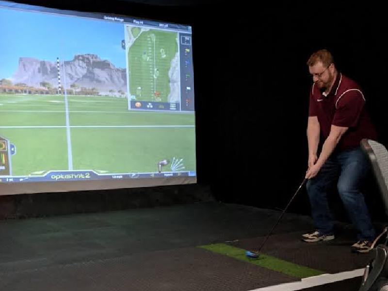 skytrak golf simulator brand