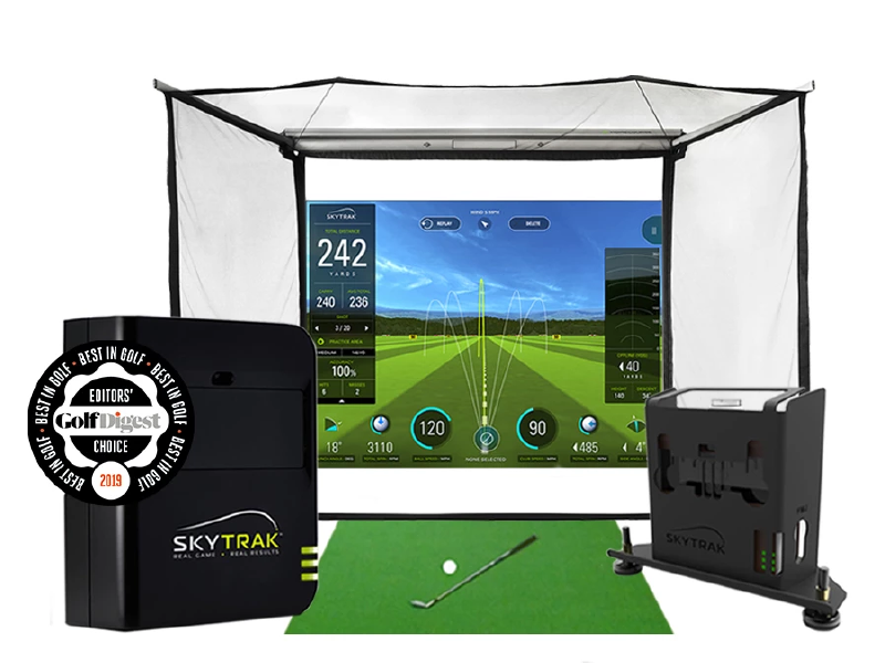 wireless golf simulator