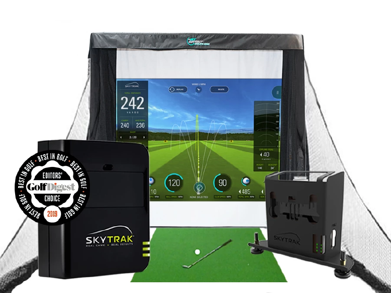 skytrak simulator series net screen package