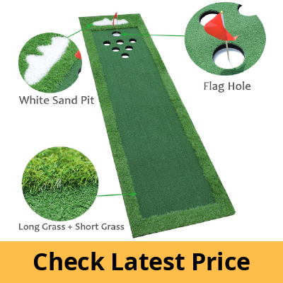 SPRAWL Portable Golf Green Putting Practice Mat review