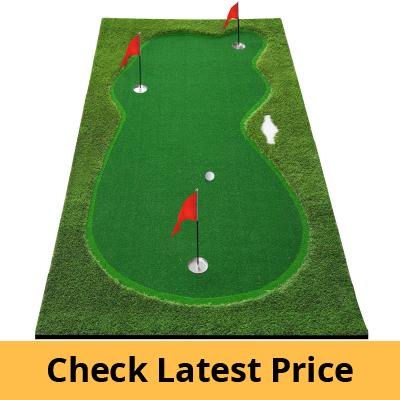 BOBURN Golf Putting Green/Mat-Golf Training Mat review
