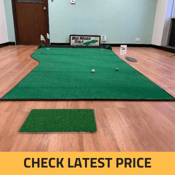 Big Moss Country Club 612 V2 Putting Green & Chipping Mat Review