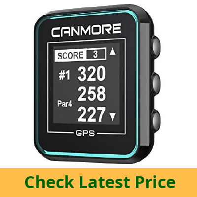 CANMORE H-300 Handheld Golf GPS review