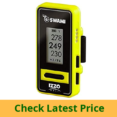 Izzo Golf Swami Voice Clip GPS review