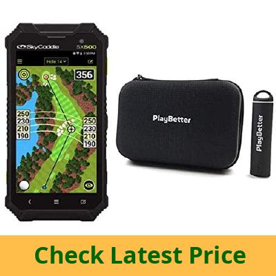 PlayBetter SkyCaddie SX500 Handheld Golf GPS review