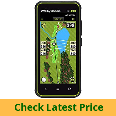 SkyCaddie SX400, Handheld Golf GPS review
