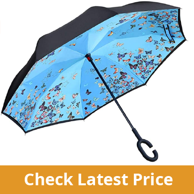 Owen Kyne Windproof Double Layer Folding Inverted Umbrella review