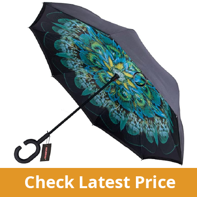 WASING Double Layer Inverted Umbrella review