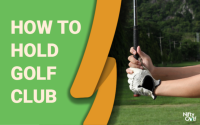 How to hold golf club