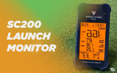 Swing Caddie SC200 Launch Monitor Review