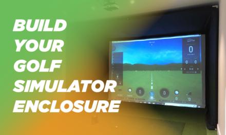 Build Your Own Golf Simulator Enclosure