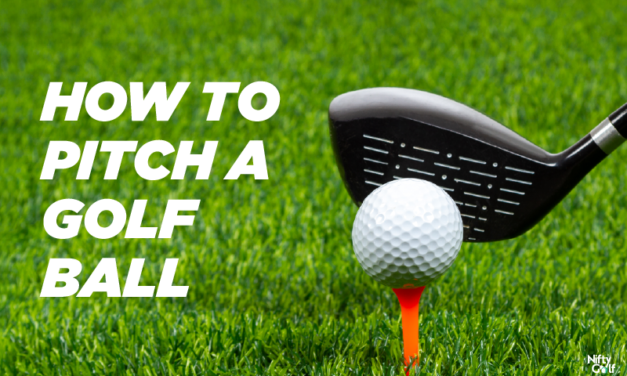 How to Pitch a Golf Ball: Tricks and Tactics