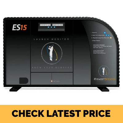 Ernest Sports ES15 Range Launch Monitor
