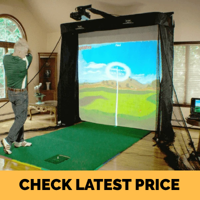 OptiShot Golf Simulator Review Series Package