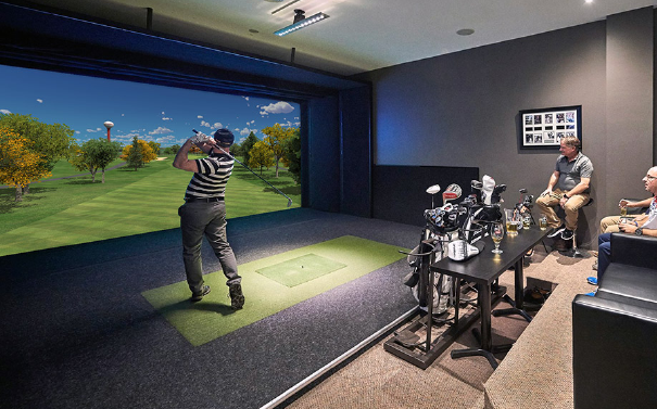 How golf simulator work