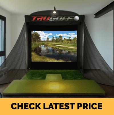 TruGolf Indoor Golf Simulator Platinum Entertainment Package
