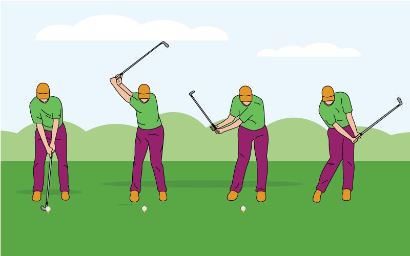 develop footwork in golf