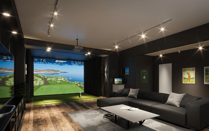 best golf simulator under $1000 review