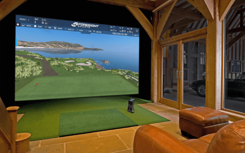 best home golf simulator review