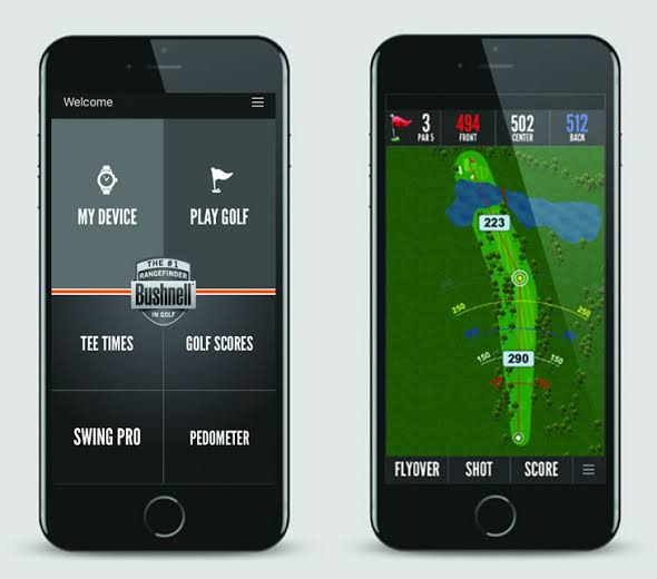 Bushnell GPS app