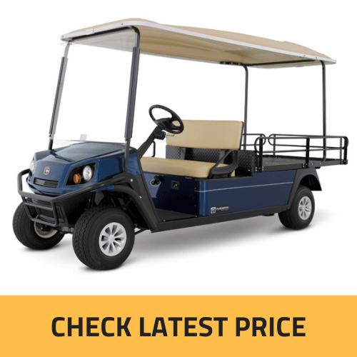 Cushman SHUTTLE 2 Electric Golf Cart Review