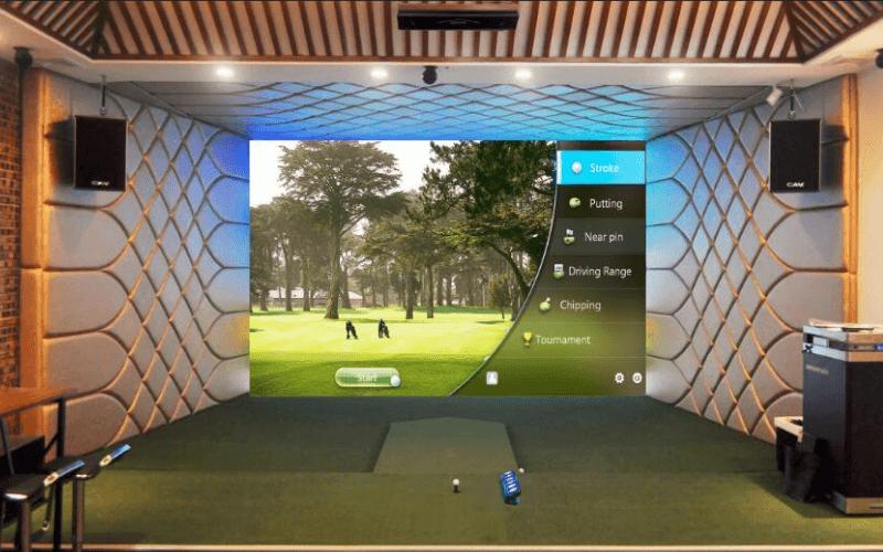 Golf Simulator Room Size