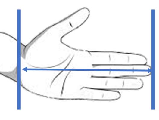 hand grip size