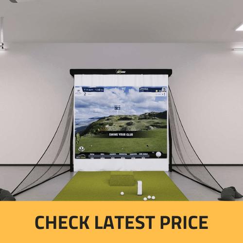 SkyTrak Bronze Golf Simulator Package Review