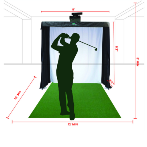 How golf simulator work