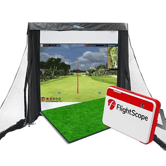 Flightscope Mevo+ golf simulator