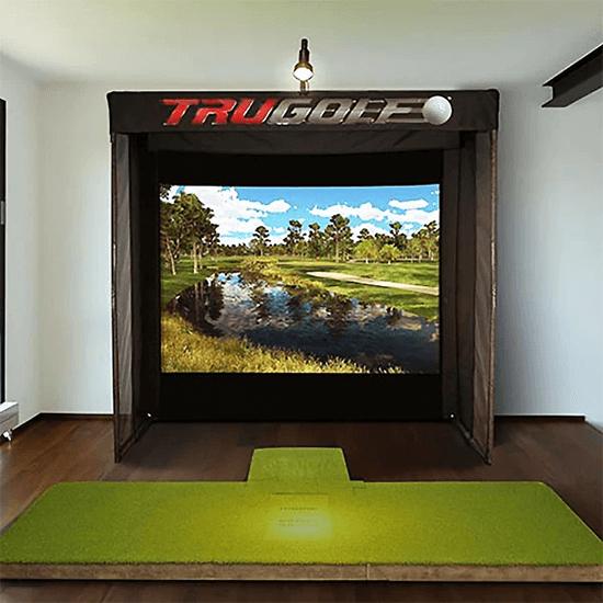 trugolf vista 8 pro golf simulator