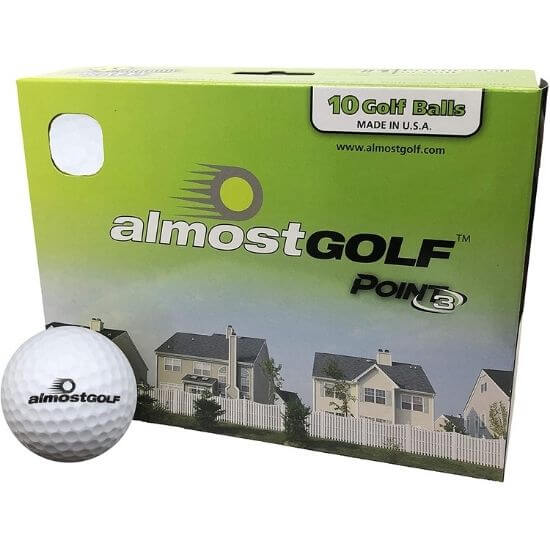 Almost Point3 Golf Balls Review