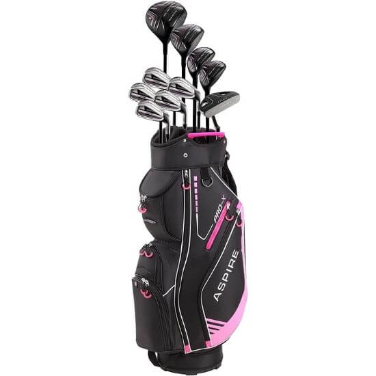 Aspire PRO-X Ladies Complete Golf Clubs Set Review