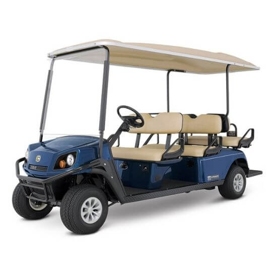 Cushman SHUTTLE 6 Electric Golf Cart Review