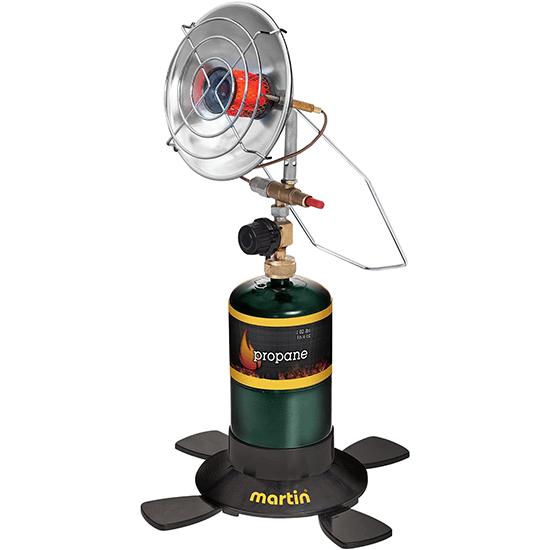 Martin portable outdoor camping infrared propane gas heater