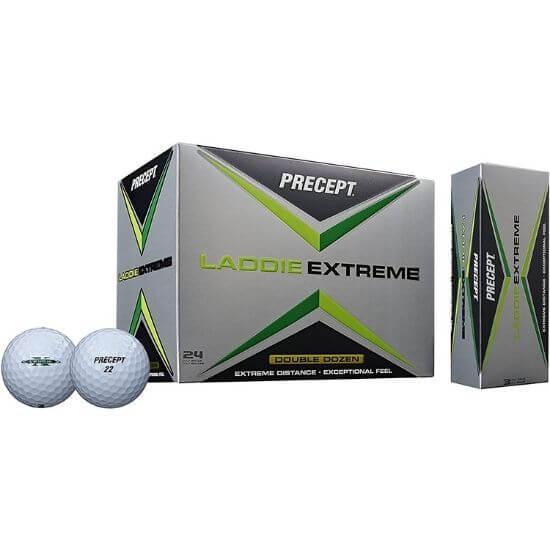 Precept 2017 Laddie Extreme Golf Balls Review
