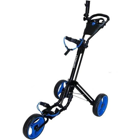 Qwik-Fold 3 Wheel Push Pull Golf CART review