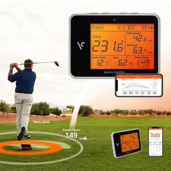 Swing Caddie SC300 Launch Monitor Review