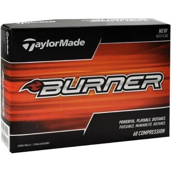 TaylorMade Burner Golf Balls Review