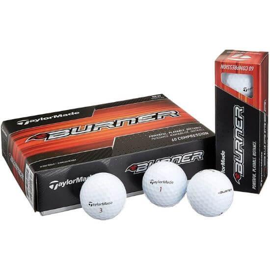 TaylorMade Golf Burner Golf Balls Review