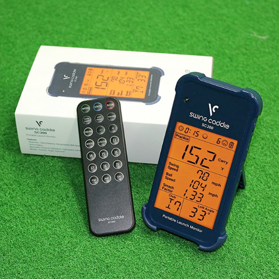 VOICE CADDIE SC 200 Portable Golf Launch Monitor Review